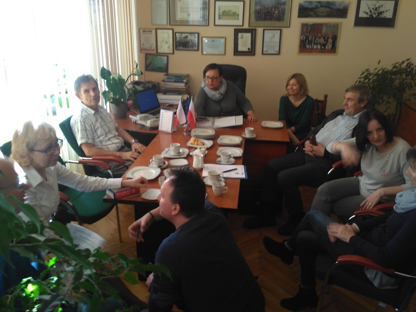 Setkání relizačního týmu